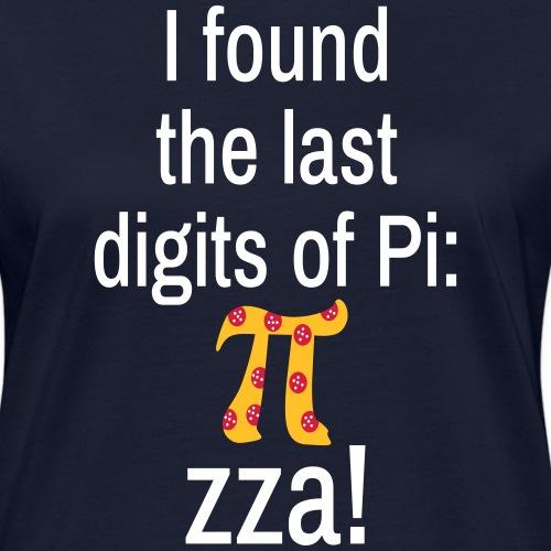 Last Digits Zahl Pi Pizza Mathe Nerd