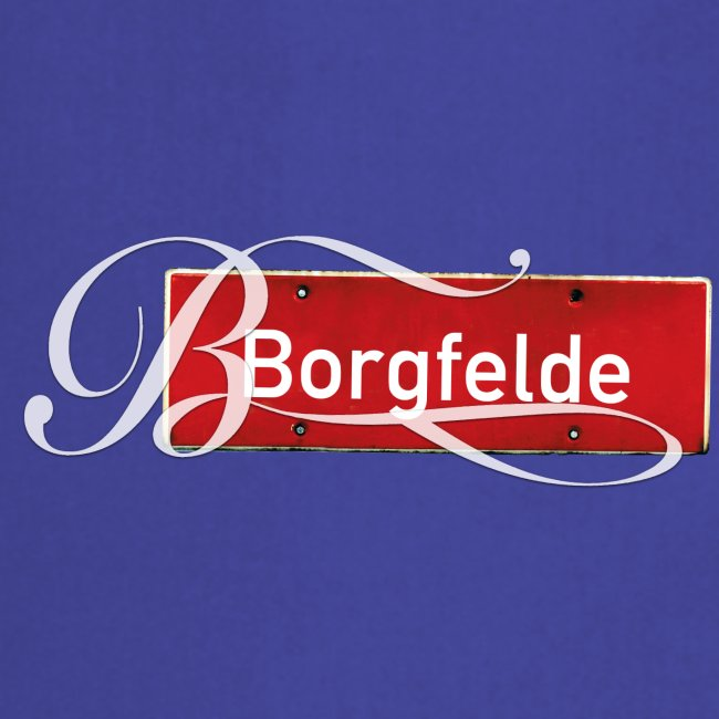 "Bahrenfeld (Hamburg): Antikes Ortsschild mit Tattoo ""B"""