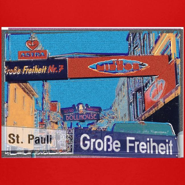 Große Freiheit, Hamburg-St. Pauli, mein Kiez