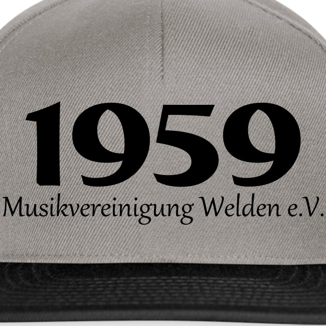 Cap 1959 grau