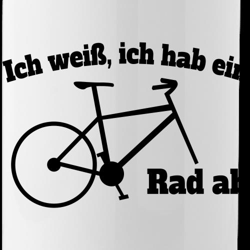 Rad ab Fahrrad Radfahrer Spruch