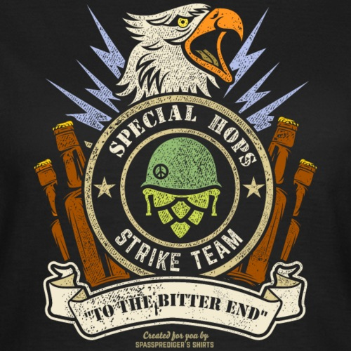 Craft Beer Fan T Shirt Special Hops Strike Team