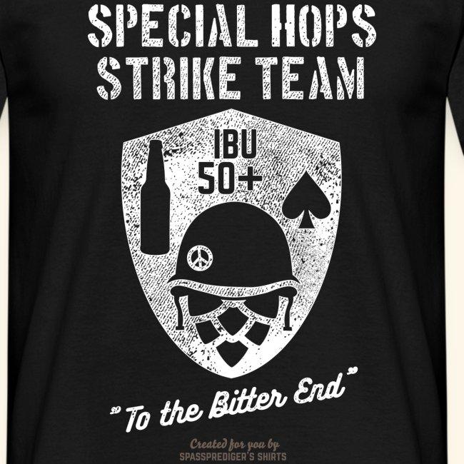 Craft Beer Fan T Shirt Special Hops Strike Team