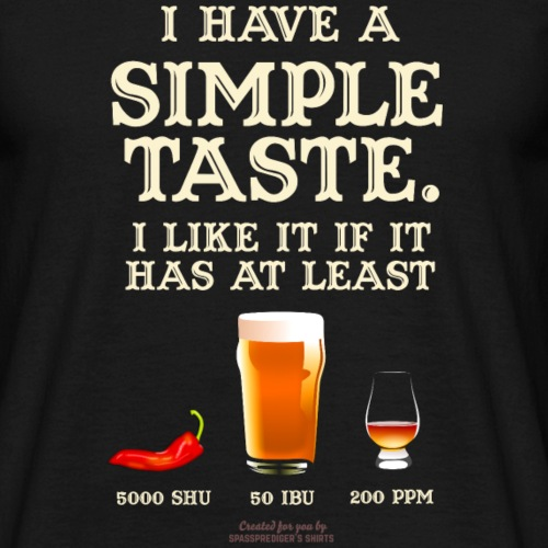 Whisky, Chili, Bier