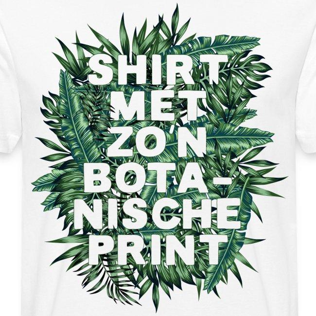 Botanisch mannen bio shirt