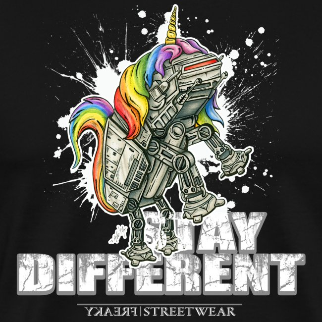 Stay Different - imperial unicorn