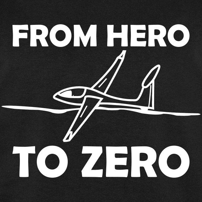 König der Außenlandung - Segelflieger T-Shirt