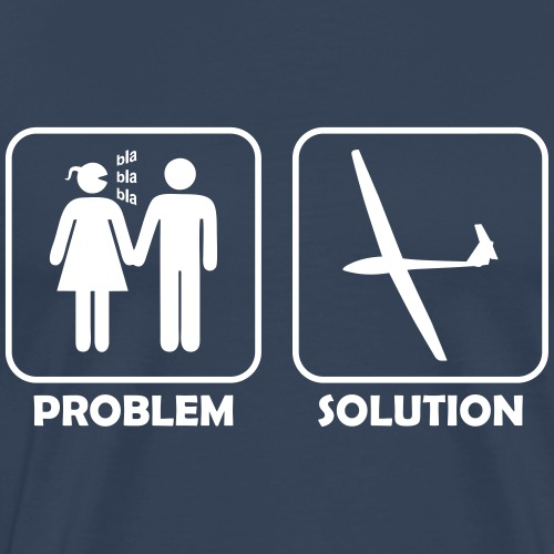 Problem Segelflieger lustig Segelflugzeug
