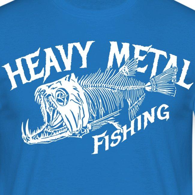 Angler T-Shirt Heavy Metal Fishing