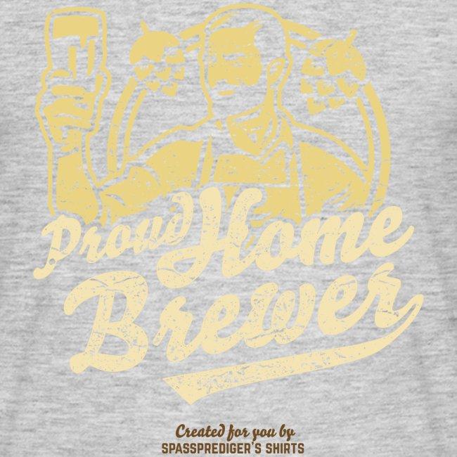 Craft Beer T Shirt Design Proud Home Brewer