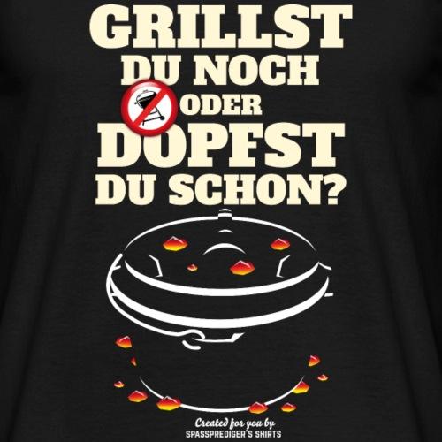 Dutch Oven T shirt Grillst du noch