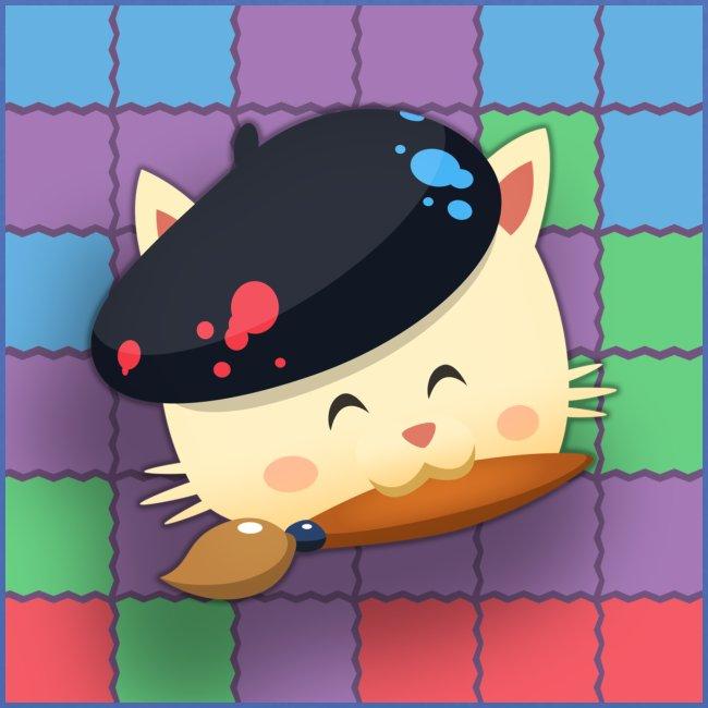 Tote Bag Hungry Cat Mahjong