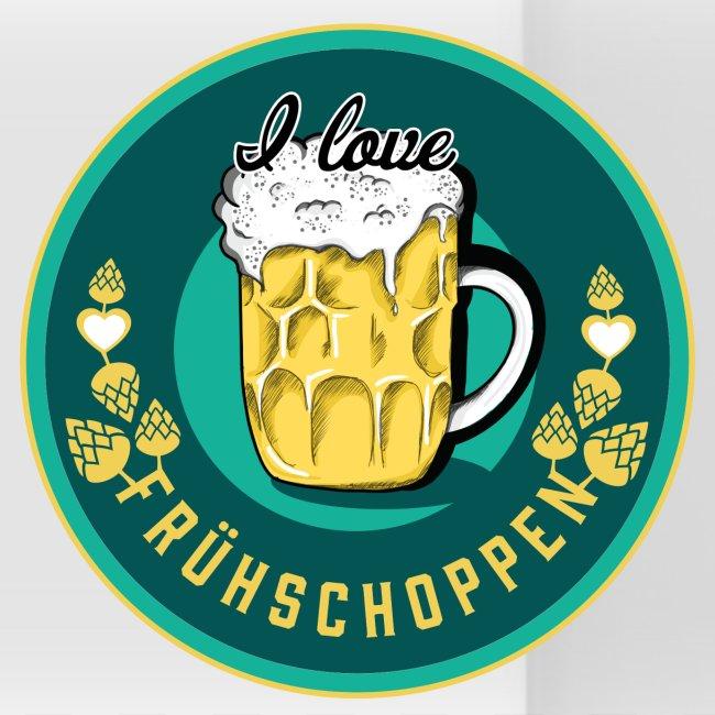 Panoramatasse - I love Frühschoppen