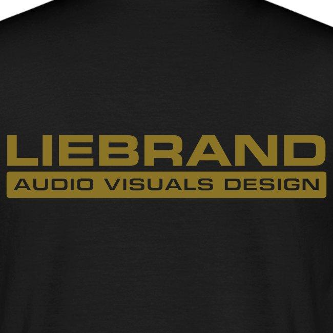 Liebrand Audio Visuals Gold on Black Comfort T