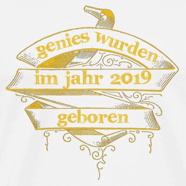 Genies wurden im Jahr 2019 geboren