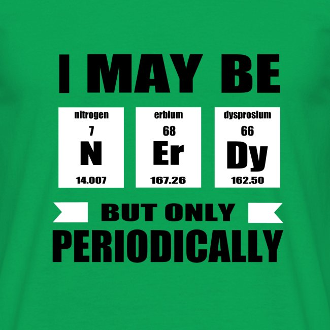 Only Periodically Nerdy
