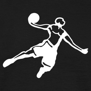 Basketball Dunk - Männer T-Shirt
