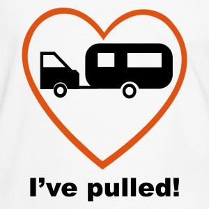 White/black Caravan I've Pulled! T-Shirts - Men's Ringer Shirt