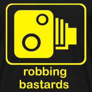Black Robbing Bastards T-Shirts - Men's T-Shirt