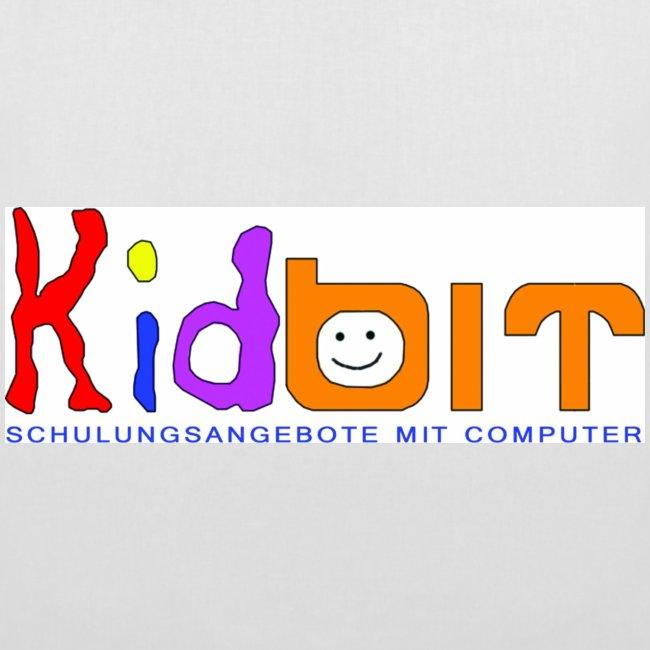 Stofftasche mit Kidbitlogo