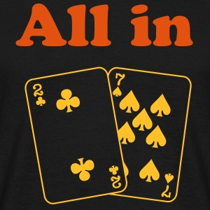 All in sw - Männer T-Shirt