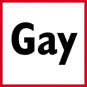 Rood Gay, 100 procent zeker T-Shirts - Mannen T-shirt