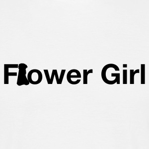 White flower girl T-Shirts - Men's T-Shirt