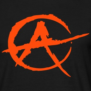 Black Anarchy T-Shirts - Men's T-Shirt