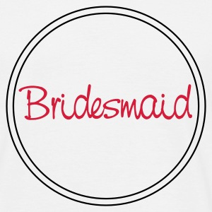 White bridesmaid T-Shirts - Men's T-Shirt
