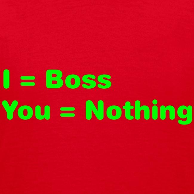 I = Boss