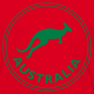 Red australia T-Shirts - Men's T-Shirt