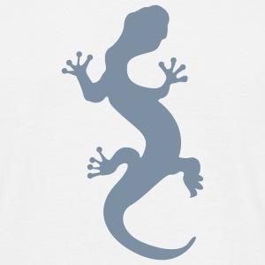White lizard T-Shirts - Men's T-Shirt