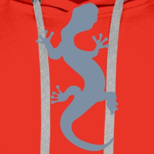 Red lizard Men's Longsleeves - Men's Premium Hoodie