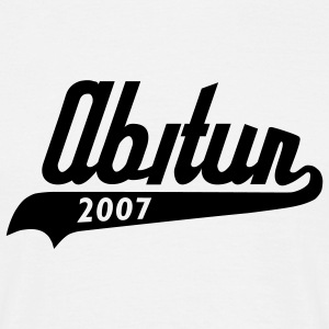 White Abi Retro 07 T-Shirts - Men's T-Shirt