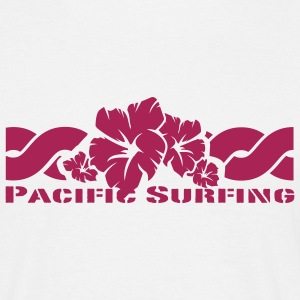 White Pacific Surfing T-Shirts - Men's T-Shirt