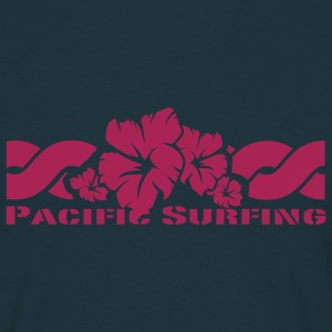 Navy Pacific Surfing T-Shirts - Men's T-Shirt