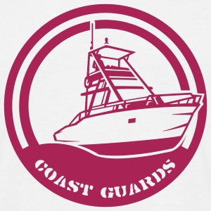 White Coast Guards T-Shirts - Men's T-Shirt