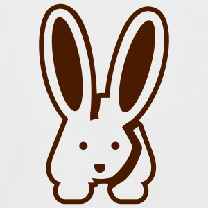 White/black Bunny 2 T-Shirts - Men's Baseball T-Shirt
