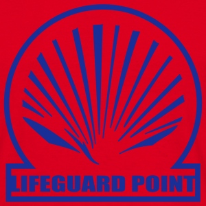 Red lifeguard point T-Shirts - Men's T-Shirt