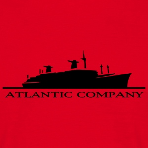 Red Atlantic Company T-Shirts - Men's T-Shirt