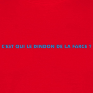 Rouge Dindon Hommess - T-shirt Homme
