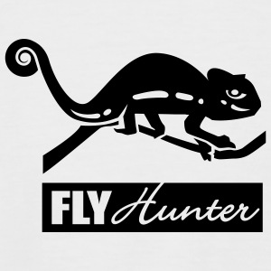 White/black Fly Hunter T-Shirts - Men's Baseball T-Shirt