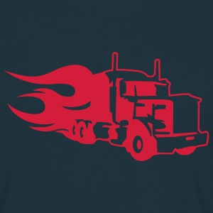 Navy truck T-Shirts - Men's T-Shirt