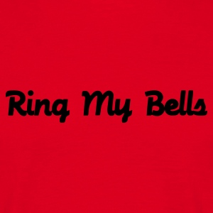 Rot Ring my bells T-Shirt - Männer T-Shirt