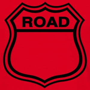 Red Road Shield T-Shirts - Men's T-Shirt