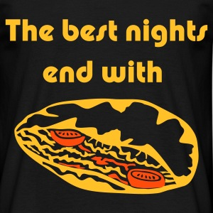 The best Nights End with .. a Doner Kebab - Men's T-Shirt
