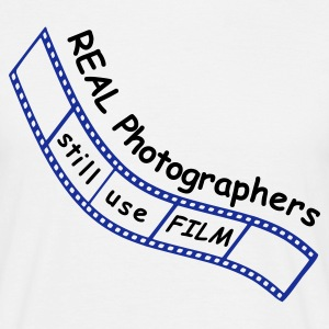 Film Photographer T-Shirt - Men's T-Shirt