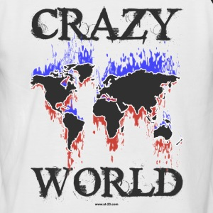 Crazy World - T-shirt baseball manches courtes Homme