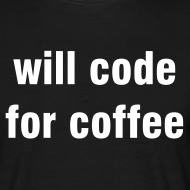 Motiv ~ will code for coffee