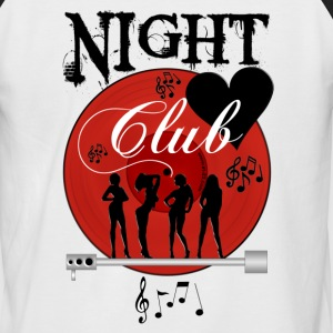 Night Club - T-shirt baseball manches courtes Homme